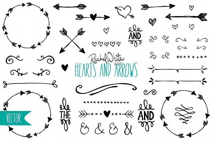 Hearts & Arrows - Free Design of The Week
