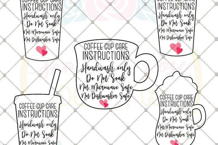 Coffee Cup Care Card Bundle