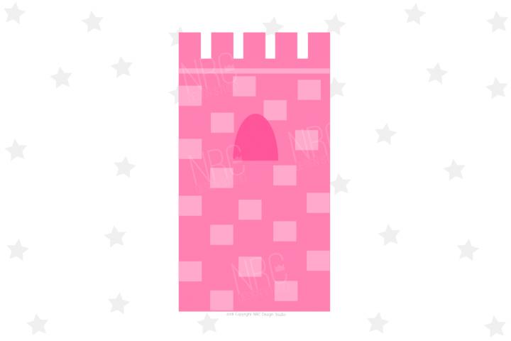 Castle Tower SVG File