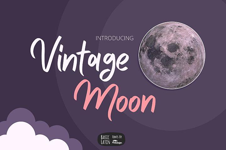 Vintage Moon Font