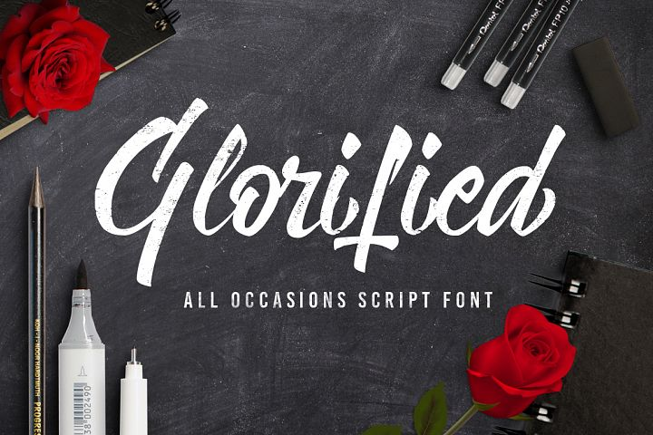 Glorified Script Font - Free Font of The Week