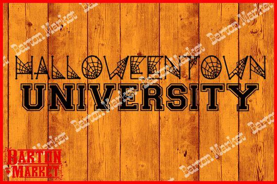 Halloeweentown University SVG / EPS / PNG