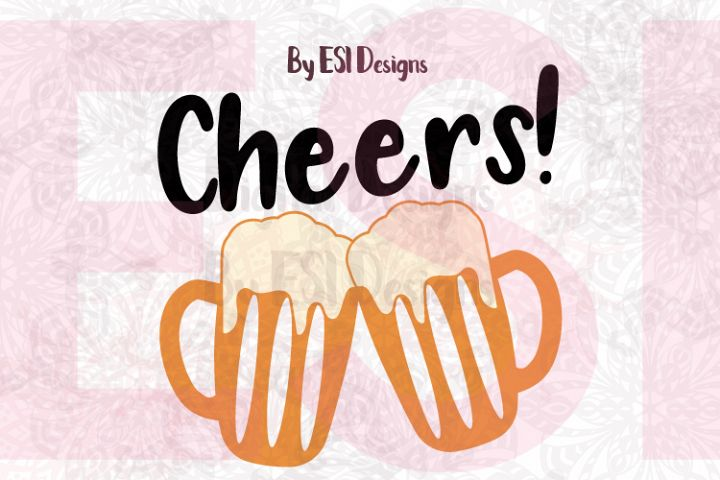 Cheers Beer Mug Designs