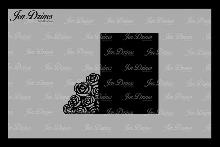 Wedding Gate Card SVG DXF EPS PNG