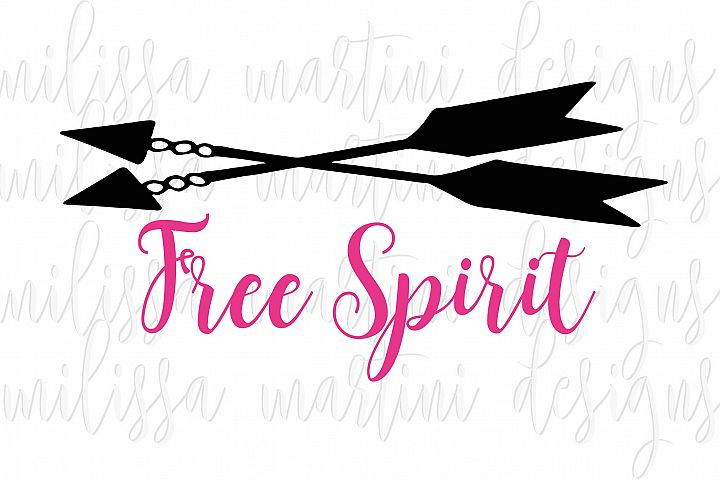 Free Spirit SVG Cut File