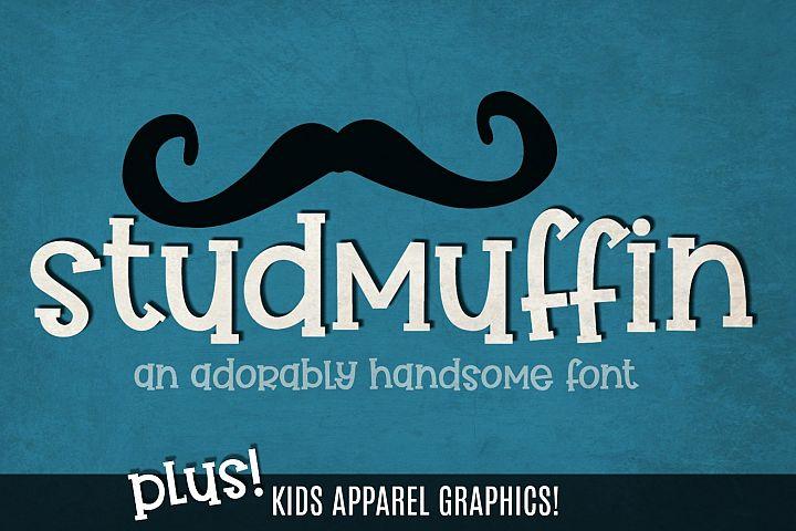 Studmuffin Font + Bonus
