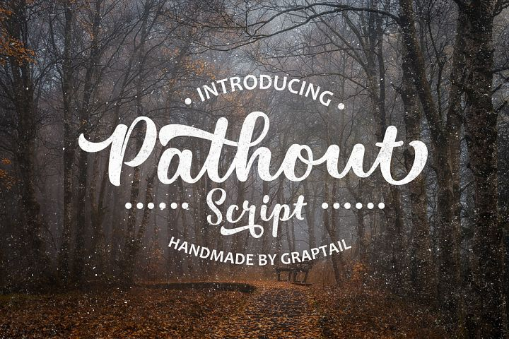 Pathout Script - Free Font of The Week