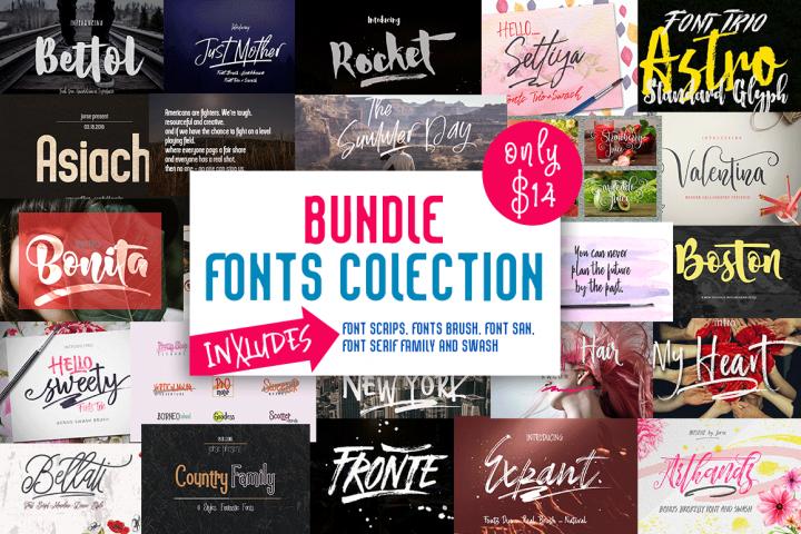 BUNDLE (Fonts Colection)