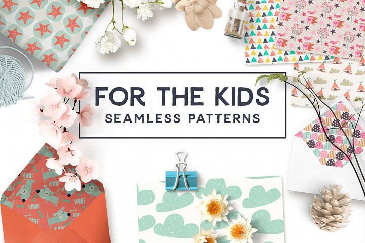 For the Kids Seamless Patterns