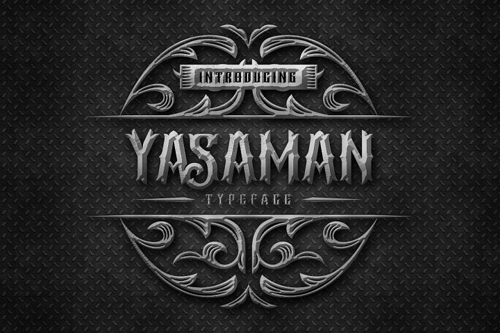 Yasaman Typeface