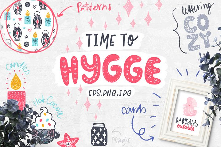 Time to Hygge - Clipart Collection!