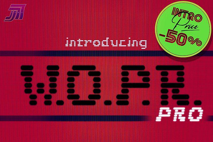 JVNE W.O.P.R. Pro