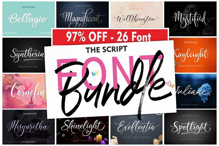 The Script Font Bundle