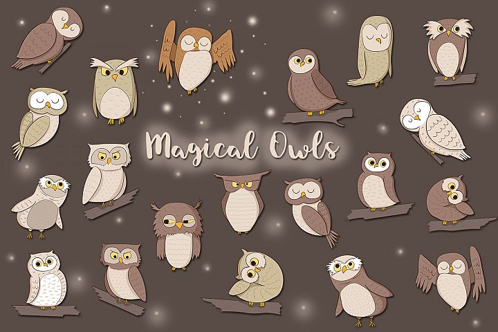 Magical Owls