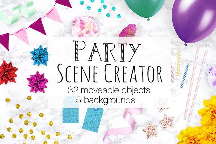Party Scene Creator - Top View