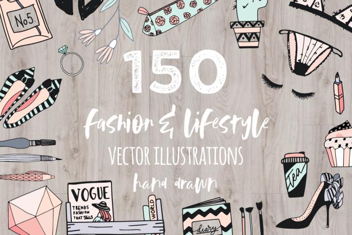 Fashion/Lifestyle illustration pack