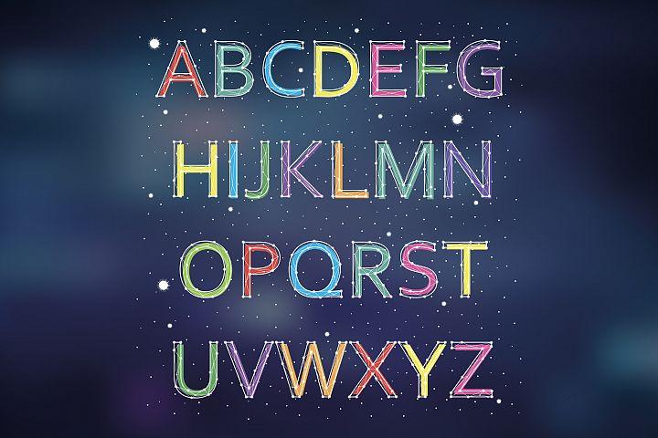 Font constellation
