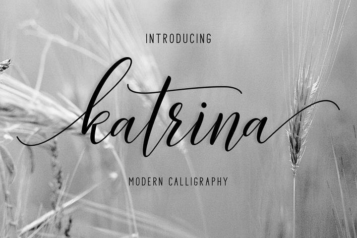 Katrina Script | Discounts 50% all product