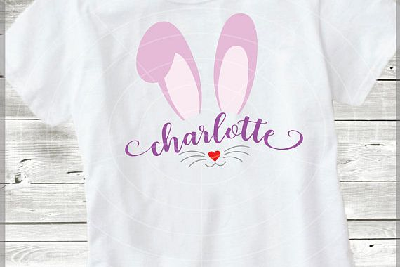 Bunny names SVG - Bunny face Cut Files - 2 in 1- Bunny ears svg - Easter cut files - Easter SVG - Bunny - Svg - Dxf - Eps - Png - Jpg - Pdf