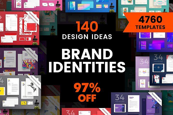 Brand Identity Design Templates Bundle SALE