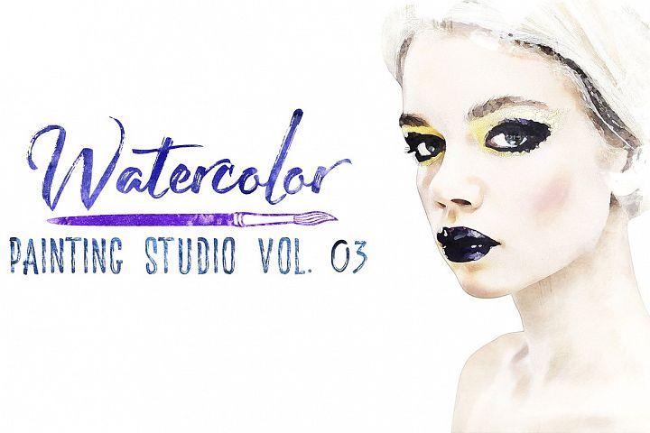 Watercolor Painting Studio Vol. 03