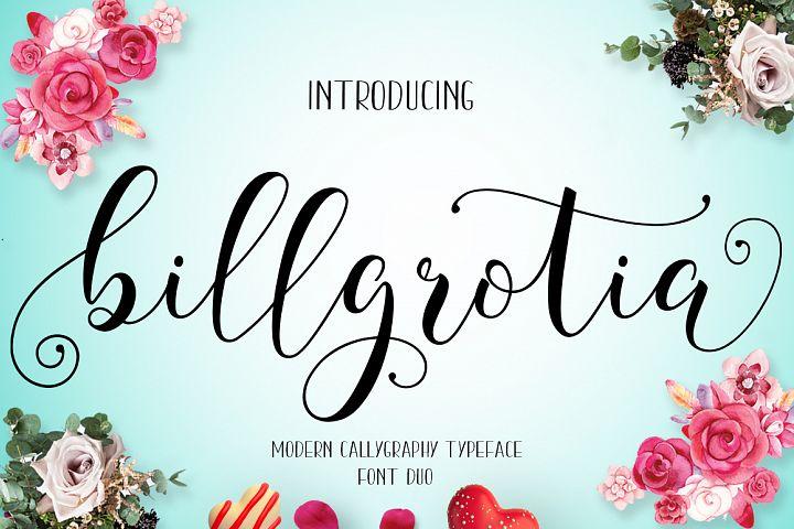 Billgrotia Script