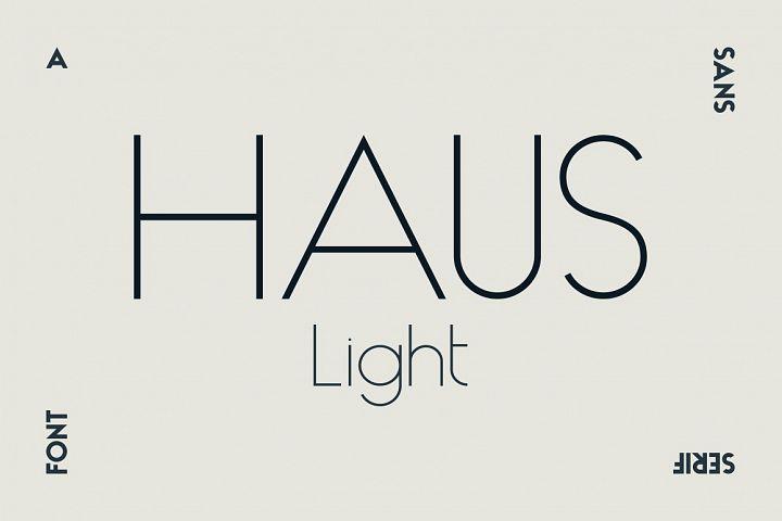 HAUS Sans Light