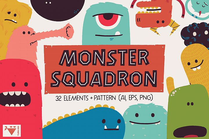 Monster Squadron - Graphic Kit
