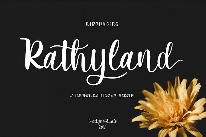 Rathyland Script