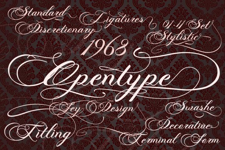 Photograph - Script Wedding Font - Free Font of The Week Design 1