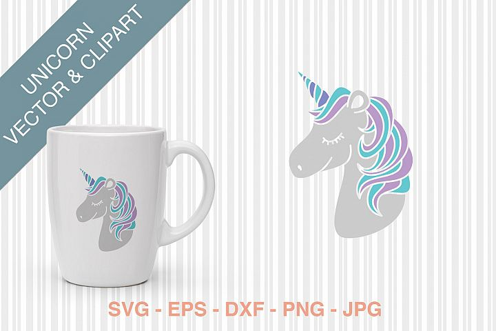 Unicorn Vector/SVG/Clipart