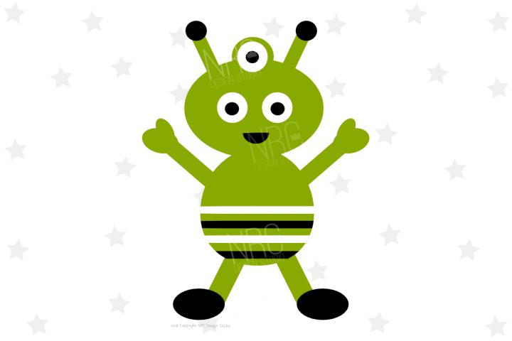 Space Alien SVG File