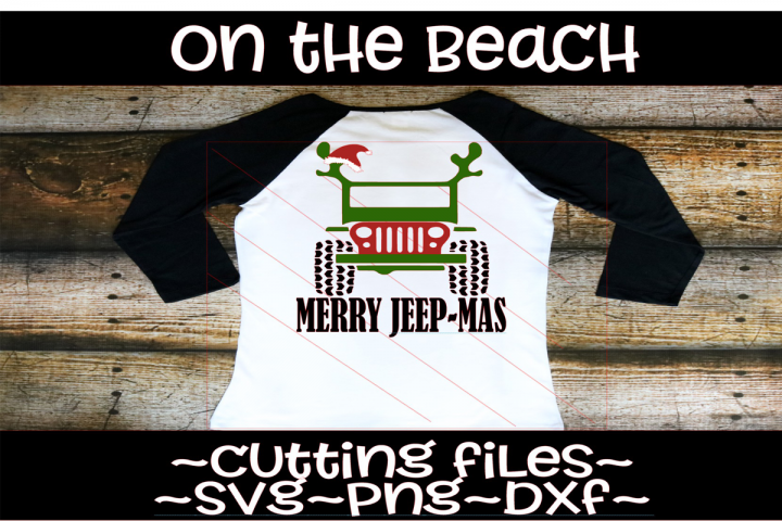 Christmas jeep svg, Merry Jeep-mas svg, Merry Christmas Jeep
