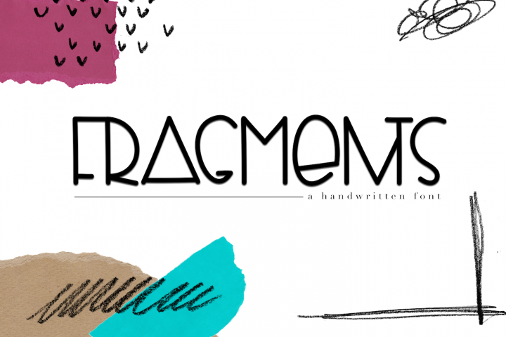 Fragments - A Fun Handwritten Font