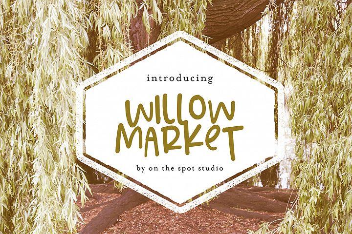 Willow Market + BONUS Script