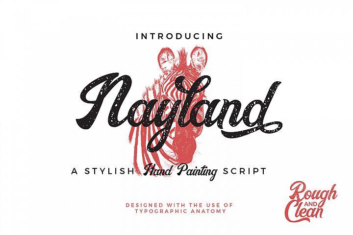 Nayland Script Font
