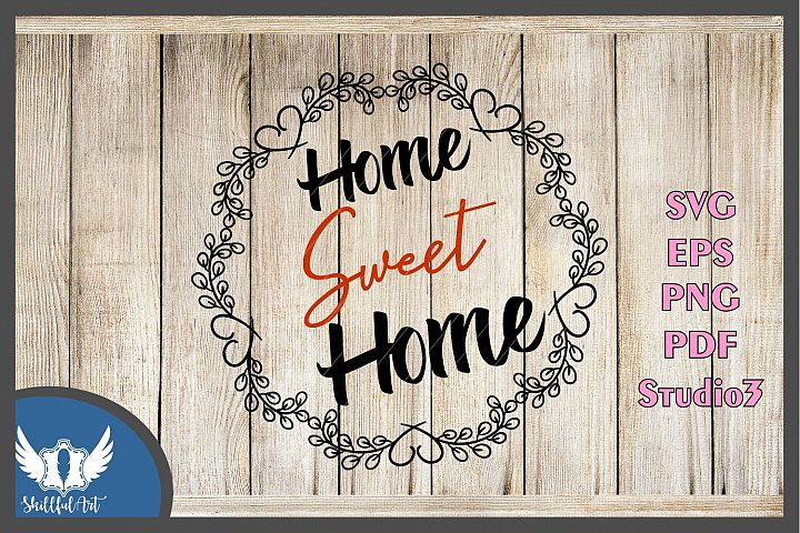 home sweet home, home sweet home sign, home printable, home svg