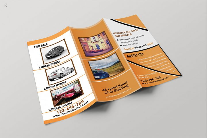 Car Business Trifold