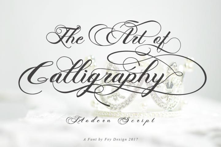 Photograph - Script Wedding Font - Free Font of The Week Design 9