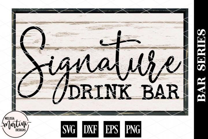 Signature Drink Bar