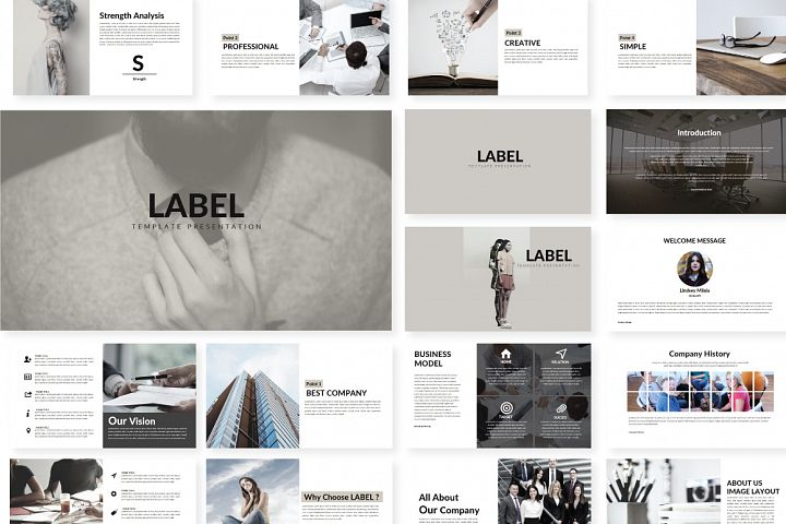 Label Keynote Template