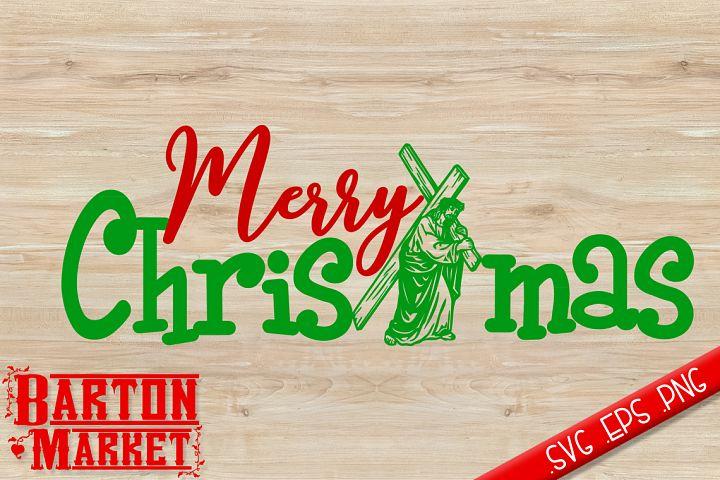 Merry Christmas Jesus SVG / EPS / PNG