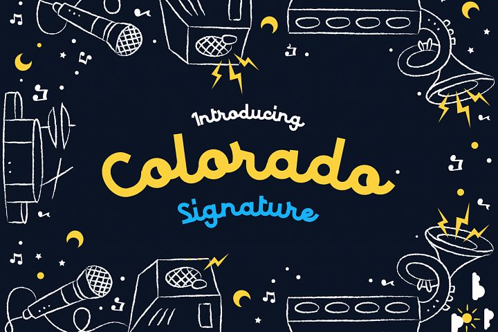 Colorado - Retro Typeface