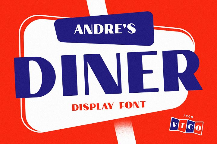 Andres Diner Display Font