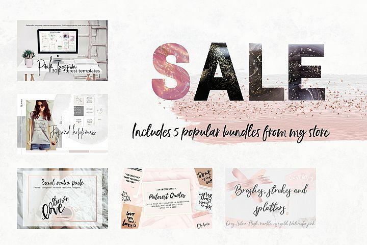 Sale! 5 store bundles
