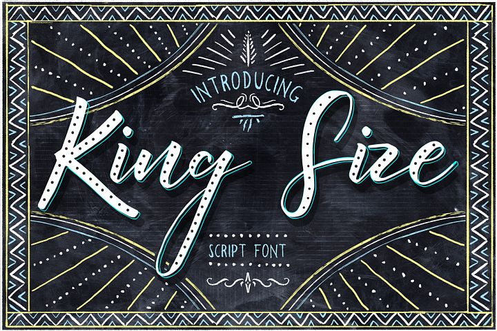 King Size Font - Free Font of The Week