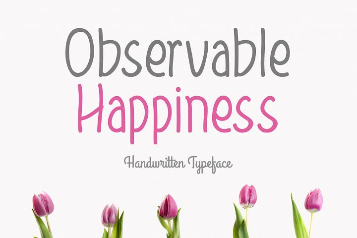 Observable Happiness