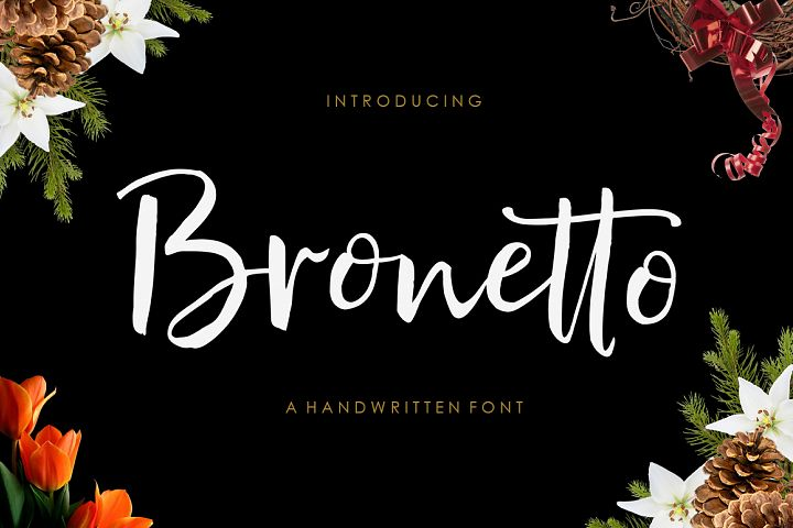 Bronetto Brush Font