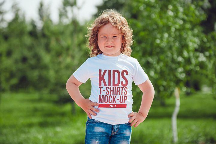 Kids T-Shirt Mock-Up Vol 1