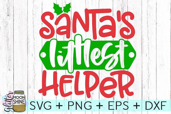Santas Littlest Helper SVG DXF PNG EPS Cutting Files